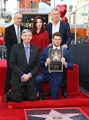 Michael Buble Honored With Star On The Hollywood Walk...