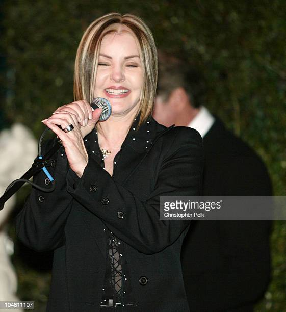 Priscilla Presley during 2003 Dream Makers Circle Reception at Private Residence in Beverly Hills California United States