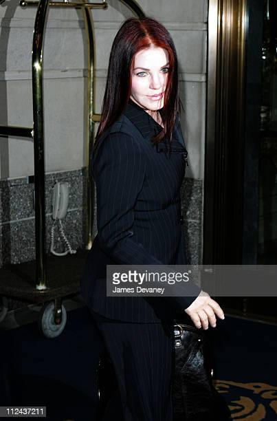 Priscilla Presley during Priscilla Presley Sighting In New York City May 11 2006 at Streets of Manhattan in New York City New York United States