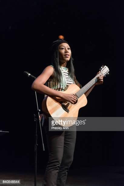 Priscilla Renea attends More Than A Hashtag at The Matrix Theatre on August 28 2017 in Los Angeles California