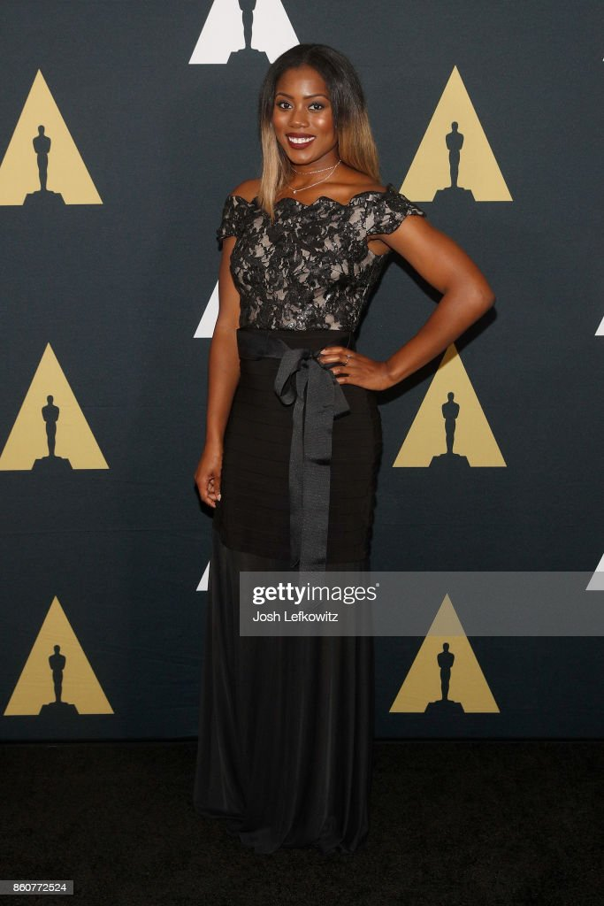 Priscilla Thompson attends the Academy of Motion Picture Arts And Sciences 44th Student Academy Awards at Samuel Goldwyn Theater on October 12, 2017 in Beverly Hills, California.