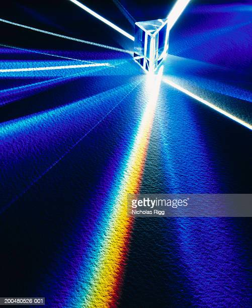 Prism refracting light