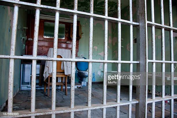 Prison Cell - looking through the bars