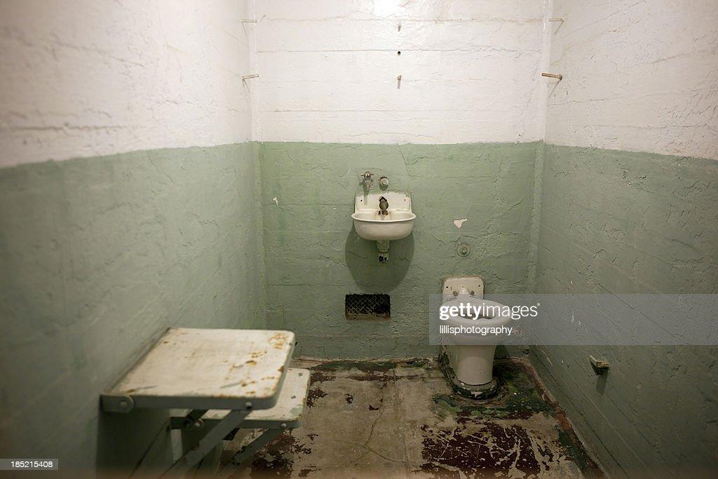 Prison Cell on Alcatraz Island