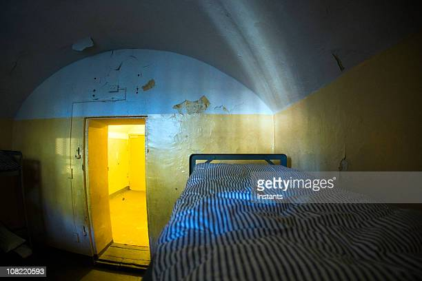 Prison Cell with Bunk Beds