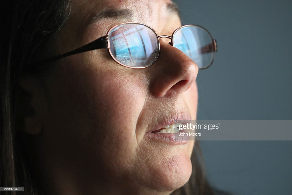 Prison inmate Virginia Souks, 50, from Wallingford, Connecticut sits for a portrait at the York Reintegration Center on May 24, 2016 in Niantic, Connecticut. The divorced and now-engaged mother of two was convicted of larceny, sentenced to 7 years in prison and expects to be released in September 2016. The reintegration center is part of the York Correctional Institution, which houses all of Connecticut's female inmate population. The unit is designed to prepare inmates for successful reintegration into society after serving out their sentences. Criminal justice and prison reforms are taking hold with bi-partisan support nationwide in an effort to reduce prison populations, while saving taxpayer money. The state's criminal justice reforms are part of Connecticut Governor Dannel Malloy's 'Second Chance Society' legislation.