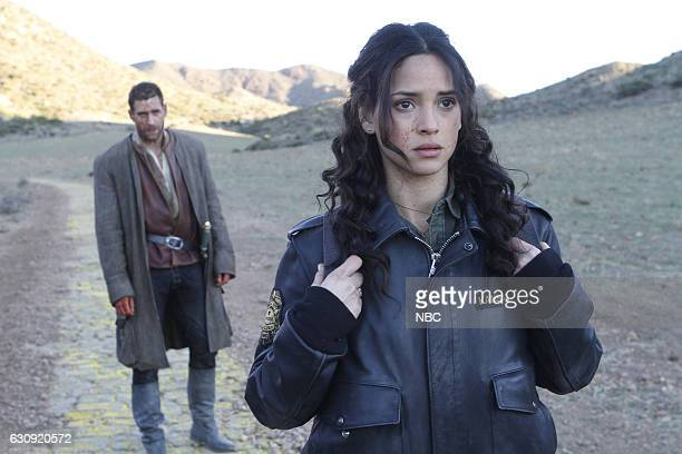 CITY 'Prison of the Abject' Episode 102 Pictured Oliver Jackson Cohen as Lucas Adria Arjona as Dorothy
