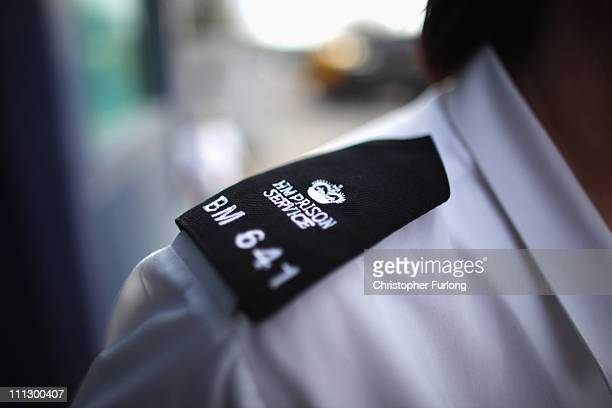 A prison officer stands outside Birmingham Prison in Winson Green Prison Birmingham which is one of three to be selected for privatisation on March...