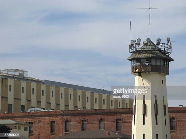 Prison San Quentin Guard Lookout Tower California