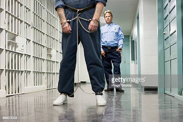 Prisoner and guard