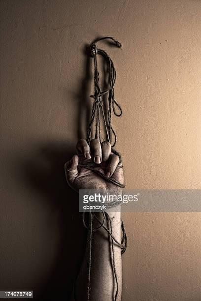 Prisoner tortured.