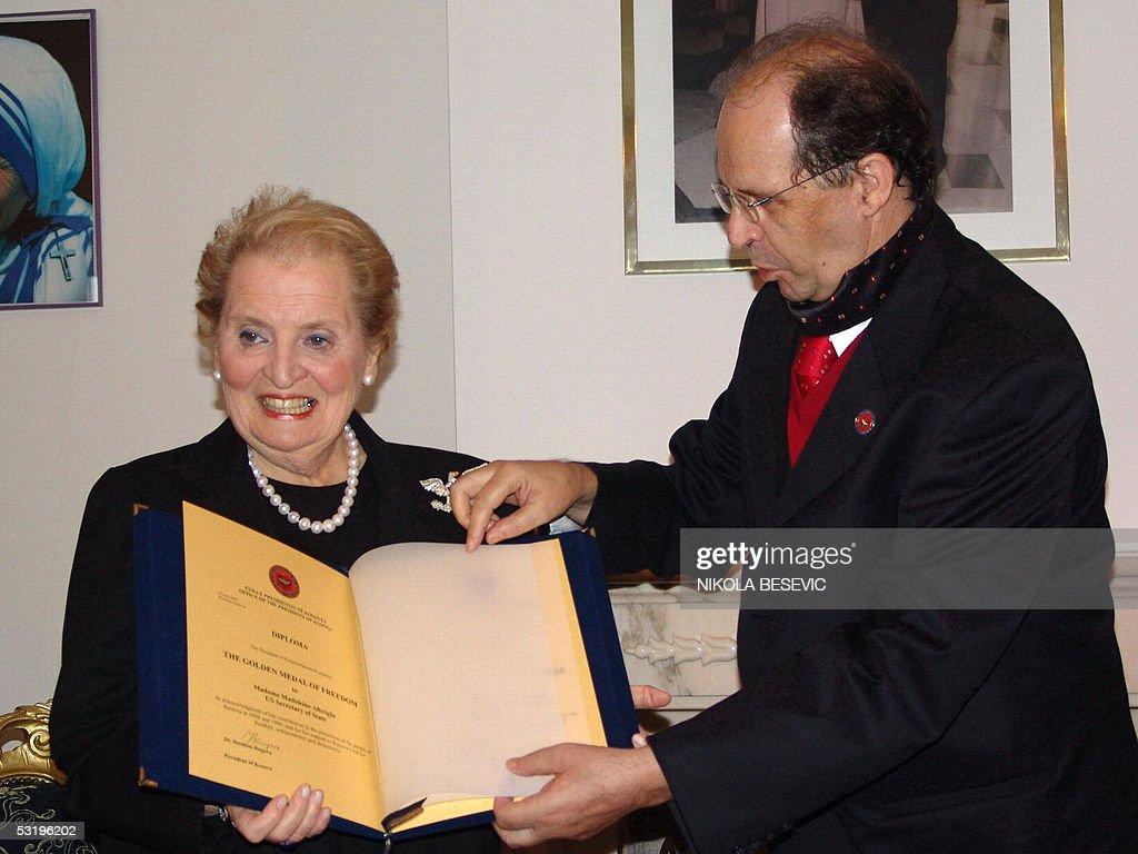 Image result for Madeleine Albright - për Rugoven