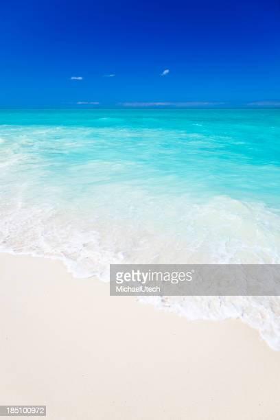 Pristine White Caribbean Beach