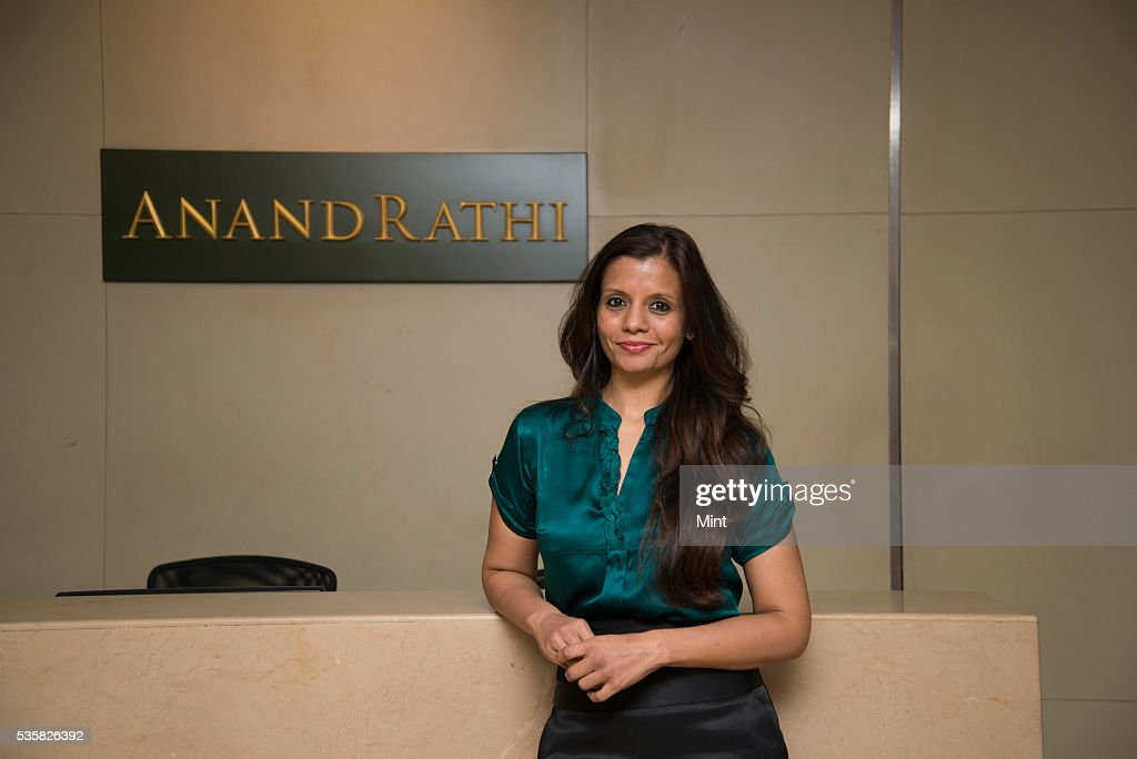 Priti Gupta- Executive Director of Anand Rathi Commodities poses during an exclusive interview on December 19, 2015 in Mumbai, India.