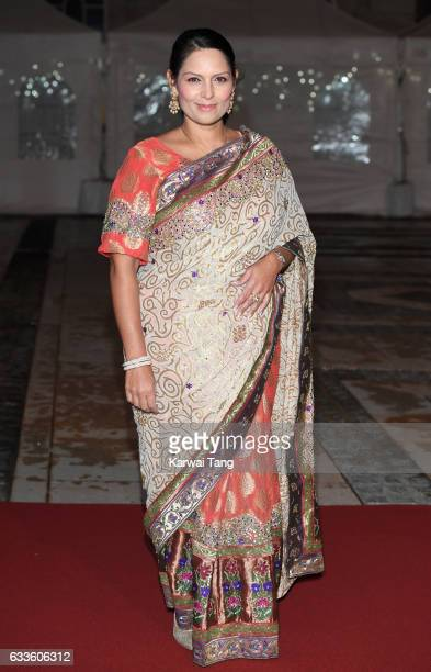 Priti Patel attends a reception and dinner for supporters of The British Asian Trust on February 2 2017 in London England