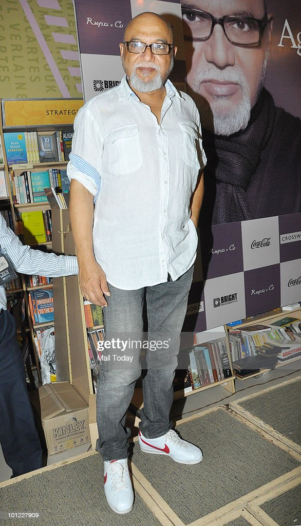 Pritish Nandy at the launch of his book of poems 'Again' in Mumbai on May 27, 2010.