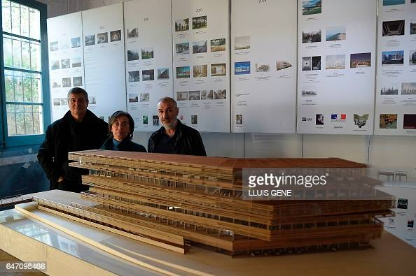 pritzker architecture prize stock photos and pictures getty images. Black Bedroom Furniture Sets. Home Design Ideas