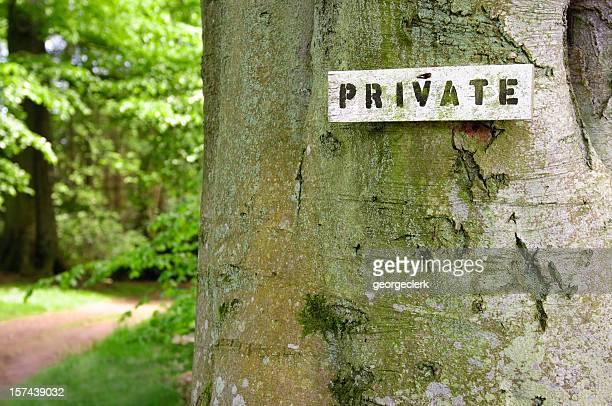 Accès privé à la campagne