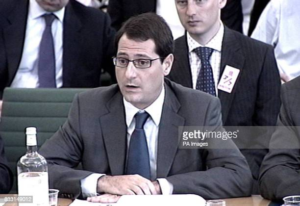 Private equity boss David Blitzer of Blackstone appears before the Treasury Select Committee to face questions about the industry