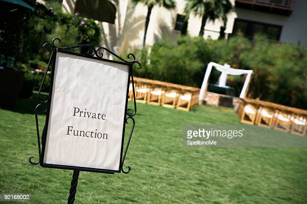 private function