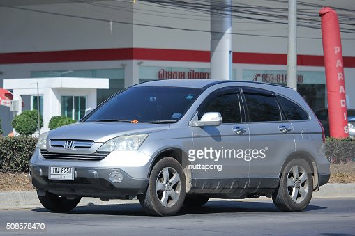 Private Honda CRV suv car. : Stockfoto