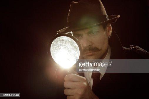Private Investigator : Stock Photo