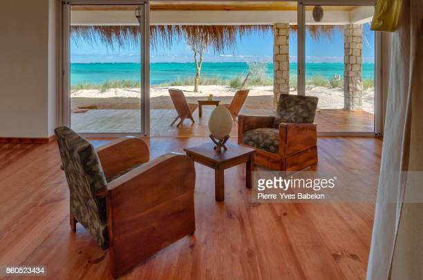 Private lounge with sea view