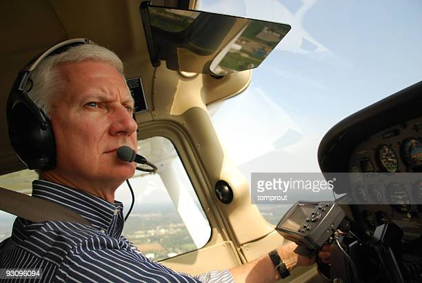 Private Pilot Flying a Small Airplane