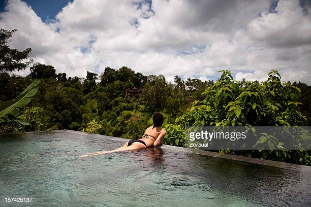 Private Pool View in Ubud Bali