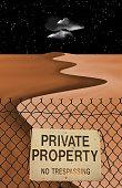 Private Property Desert