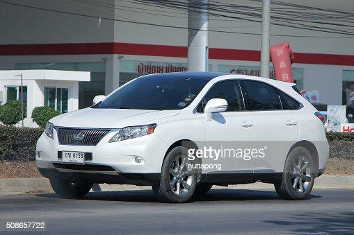 Private Suv car Lexus RX300. : Stock Photo