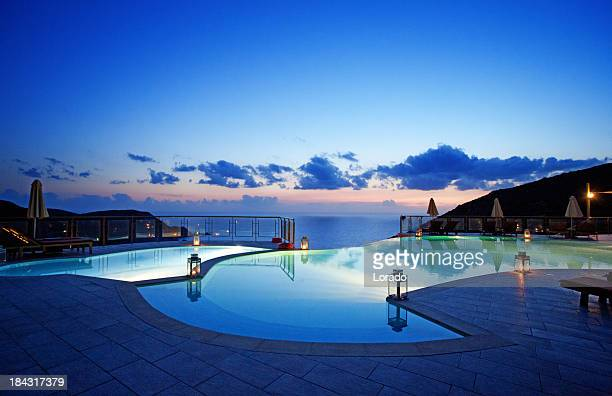 Private swimming pool stock photos and pictures getty images for California private swimming pool code