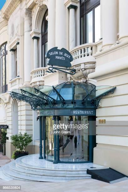 Private VIP entrance to the Casino of Monte Carlo