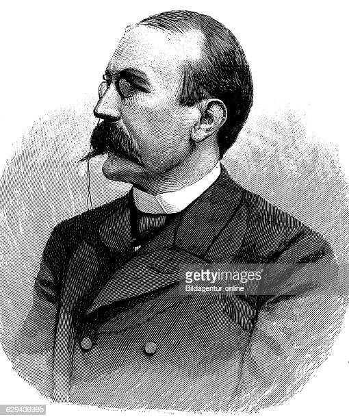 Privy councillor adolf wermuth 1855 1927 politician reich commissioner for the world exhibition in chicago in 1893 historical illustration circa 1893