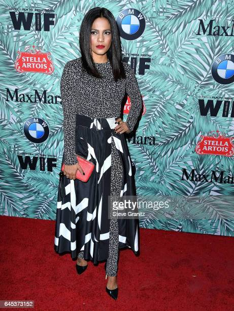 Priyanka Bose arrives at the 10th Annual Women In Film PreOscar Cocktail Party at Nightingale Plaza on February 24 2017 in Los Angeles California