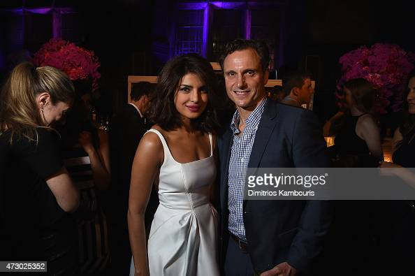 Priyanka Chopra and Tony Goldwyn attend the Entertainment Weekly and PEOPLE celebration of The New York Upfronts at The Highline Hotel on May 11 2015...