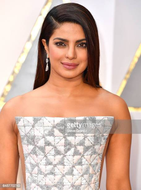 Priyanka Chopra arrives at the 89th Annual Academy Awards at Hollywood Highland Center on February 26 2017 in Hollywood California