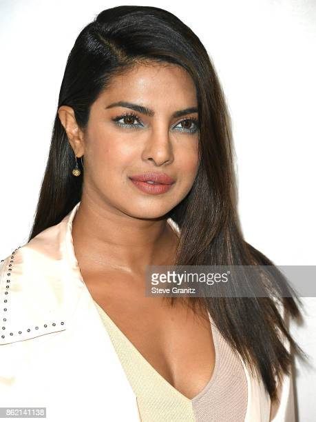 Priyanka Chopra arrives at the Bottega Veneta Hosts Hammer Museum Gala In The Garden at Hammer Museum on October 14 2017 in Westwood California