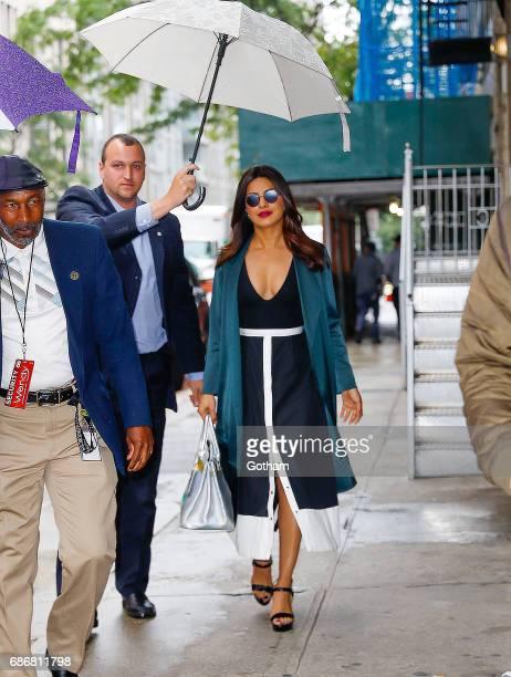 Priyanka Chopra arrives at Wendy Williams Studio in New York