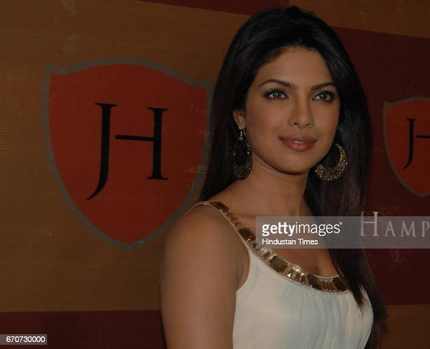 Priyanka Chopra at a Promotional Event for J Hampstead at THE LEELA Sahar