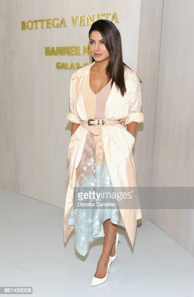 Priyanka Chopra at the Hammer Museum 15th Annual Gala in the Garden with Generous Support from Bottega Veneta on October 14 2017 in Los Angeles...