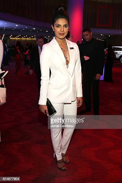 Priyanka Chopra attends 2016 Time 100 Gala Time's Most Influential People In The World red carpet at Jazz At Lincoln Center at the Times Warner...