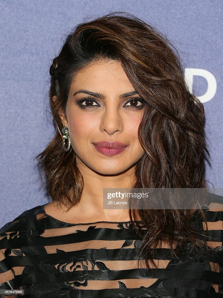 Priyanka Chopra attends a celebration of the 57th annual GRAMMY Awards hosted by Delta Air Lines, the official airline of the GRAMMY Awards, with a private performance from Charli XCX on February 5, 2015 in West Hollywood, California.