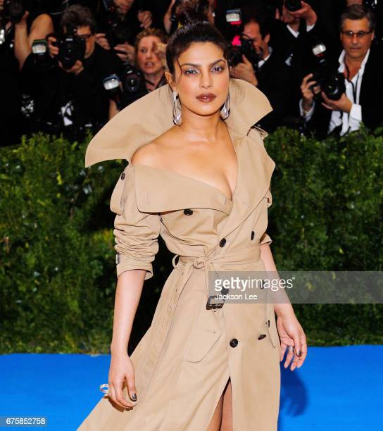 Priyanka Chopra attends 'Rei Kawakubo/Comme des GarçonsArt of the InBetween' Costume Institute Gala at Metropolitan Museum of Art on May 1 2017 in...