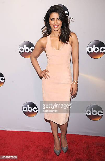 Priyanka Chopra attends the 2016 ABC Upfront at David Geffen Hall on May 17 2016 in New York City