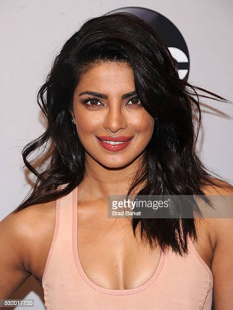 Priyanka Chopra attends the 2016 ABC Upfront at David Geffen Hall on May 17 2016 in New York City