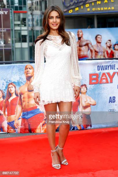 Priyanka Chopra attends the 'Baywatch' Photo Call in Berlin on May 30 2017 in Berlin Germany