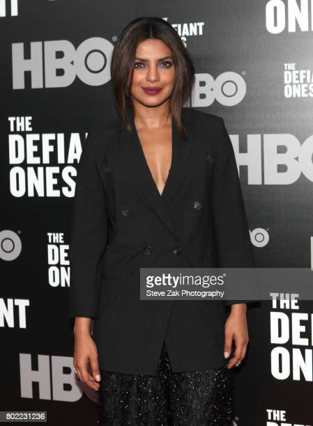 Priyanka Chopra attends 'The Defiant Ones' premiere at Time Warner Center on June 27 2017 in New York City