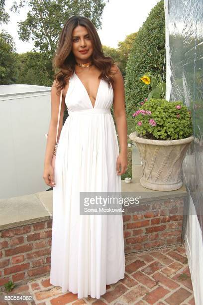 Priyanka Chopra attends the Guild Hall Summer Gala 2017 at Guild Hall and private residence on August 11 2017 in East Hampton New York