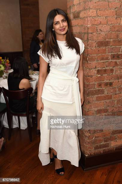 Priyanka Chopra attends the jury welcome lunch at Tribeca Grill Loft on April 20 2017 in New York City